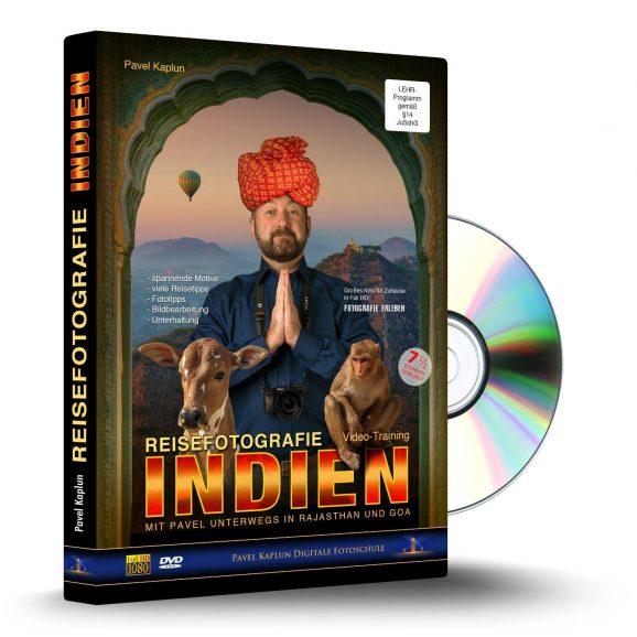 """""""Reisefotografie Indien""""-DVD von Pavel Kaplun"""